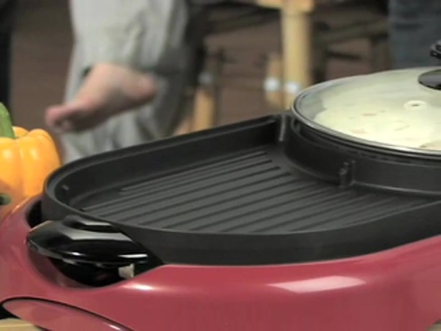 George Foreman™ Grill and Fajita Maker Combo - image 10 from the video