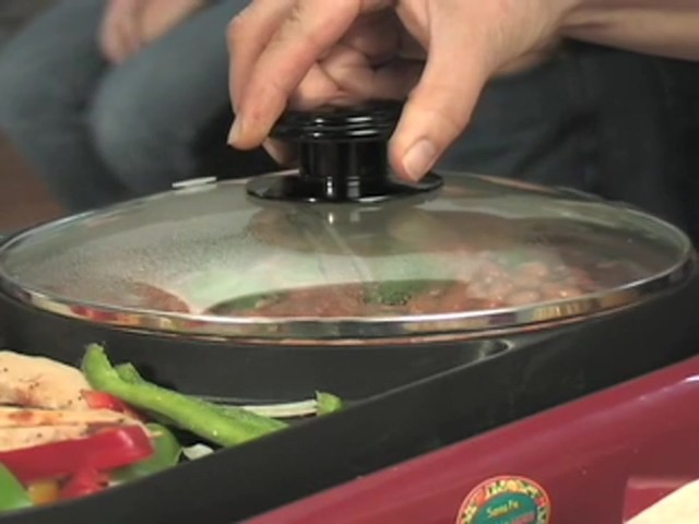 George Foreman™ Grill and Fajita Maker Combo - image 7 from the video