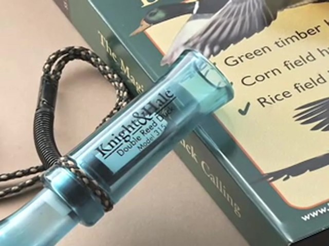 Knight and Hale® 2 Duck Calls with Instructional Video - image 9 from the video
