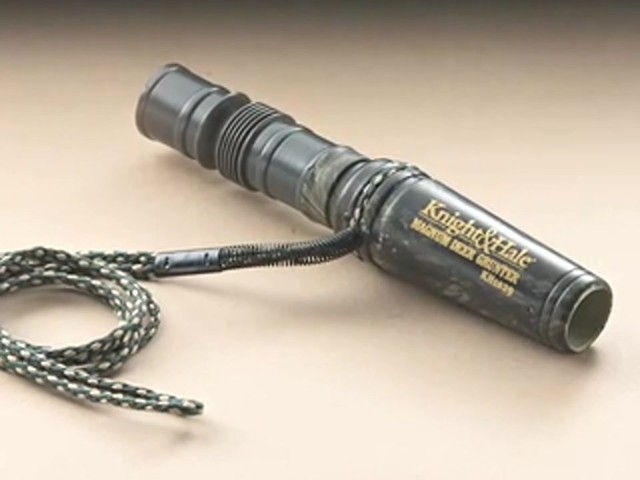 Knight & Hale® Magnum Grunter Deer Call  - image 2 from the video