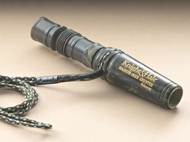 Knight & Hale® Magnum Grunter Deer Call  - image 3 from the video