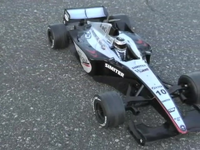 NKOK® Radio - controlled Formula 1 Race Car  - image 10 from the video
