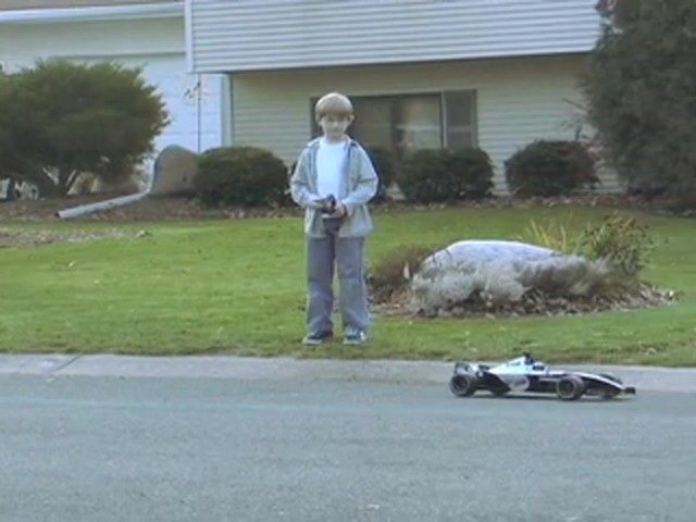 NKOK® Radio - controlled Formula 1 Race Car  - image 3 from the video