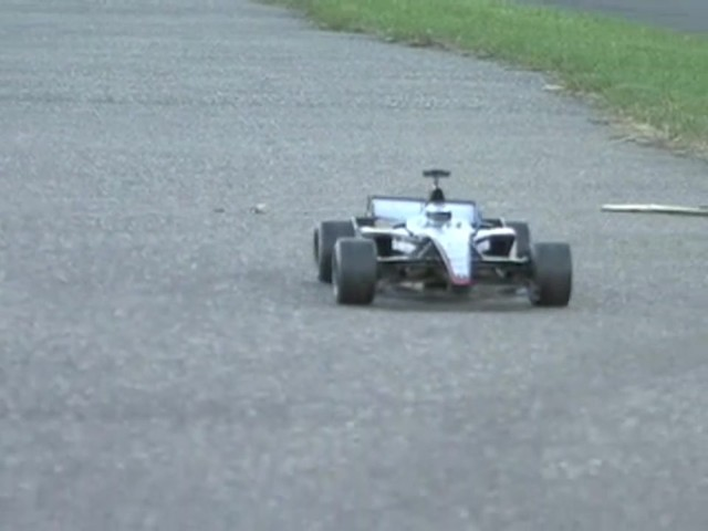 NKOK® Radio - controlled Formula 1 Race Car  - image 7 from the video