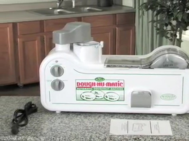 Dough - Nu - Matic™ Donut Maker - image 1 from the video