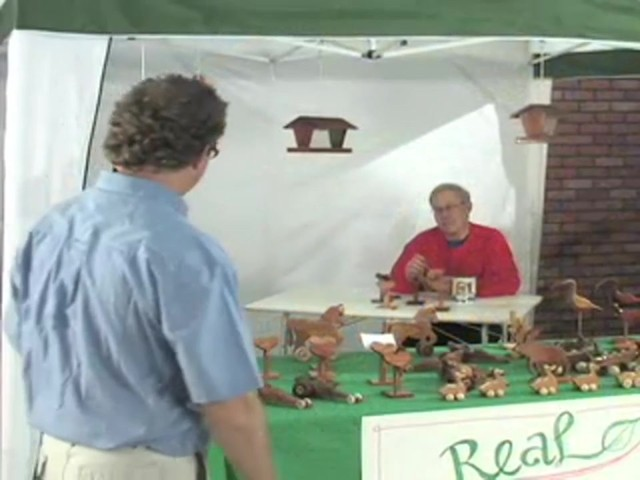 Pop - up 10x10' Vendor Gazebo - image 2 from the video