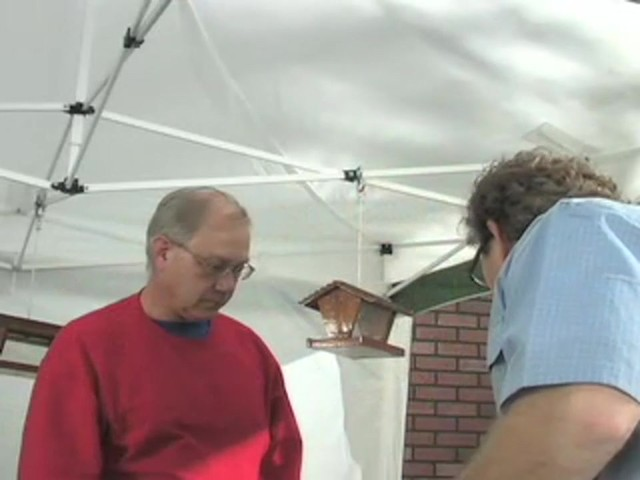 Pop - up 10x10' Vendor Gazebo - image 7 from the video