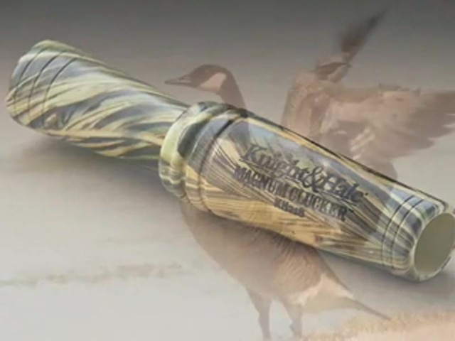 Knight and Hale® Magnum Clucker Canada Goose Call - image 4 from the video