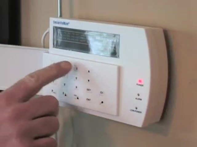 Wireless Home Alarm System - image 10 from the video