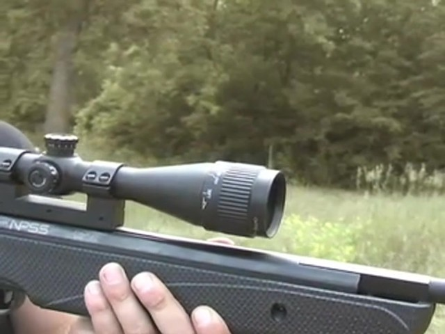 Crosman® Nitro SS Air Rifle and 3 - 9x40 mm A/O Scope - image 6 from the video