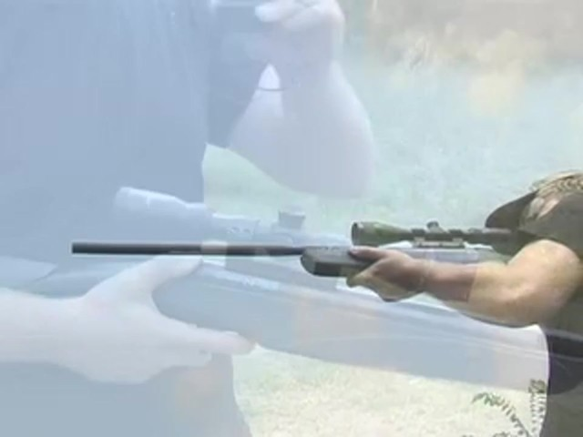 Crosman® Nitro SS Air Rifle and 3 - 9x40 mm A/O Scope - image 9 from the video