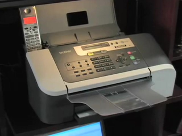Brother® Intellifax™ Copier / Fax Machine with Handset (Refurbished) - image 1 from the video