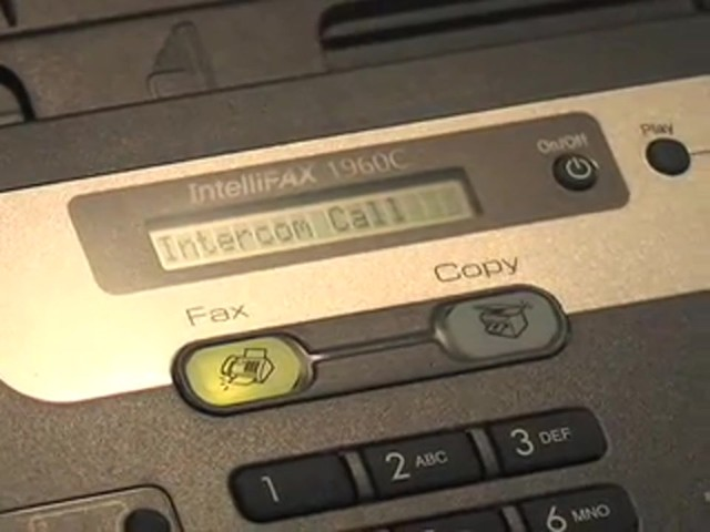 Brother® Intellifax™ Copier / Fax Machine with Handset (Refurbished) - image 10 from the video