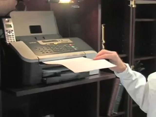 Brother® Intellifax™ Copier / Fax Machine with Handset (Refurbished) - image 5 from the video