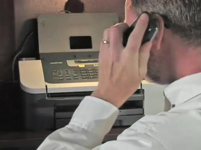 Brother® Intellifax™ Copier / Fax Machine with Handset (Refurbished) - image 7 from the video