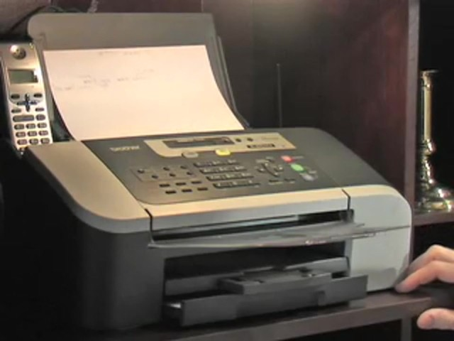 Brother® Intellifax™ Copier / Fax Machine with Handset (Refurbished) - image 8 from the video