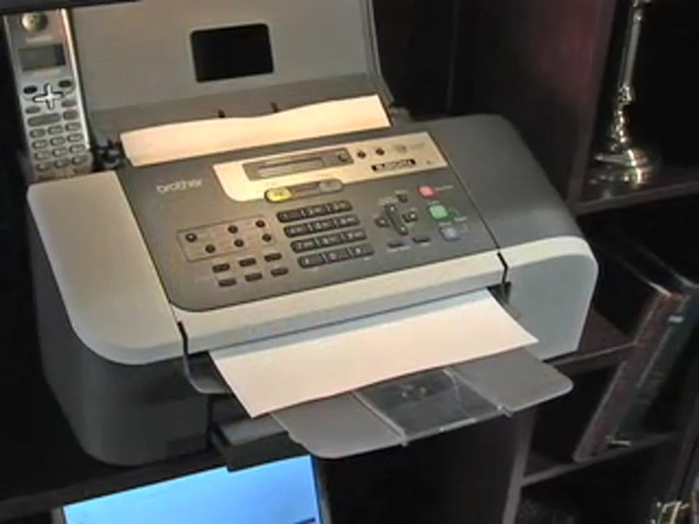 Brother® Intellifax™ Copier / Fax Machine with Handset (Refurbished) - image 9 from the video