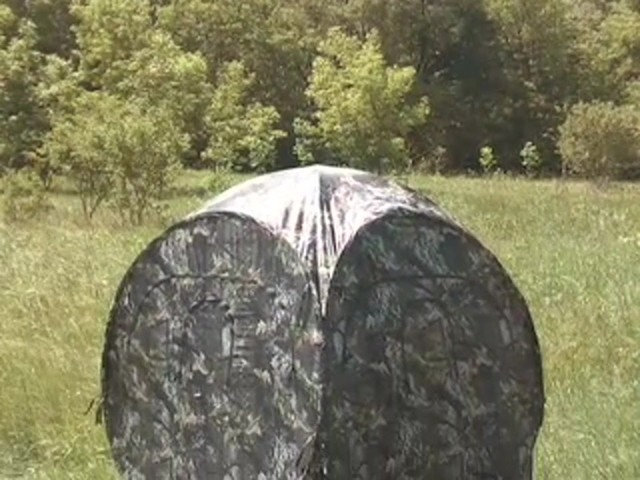 Guide Gear® Deluxe Ground Blind - image 10 from the video