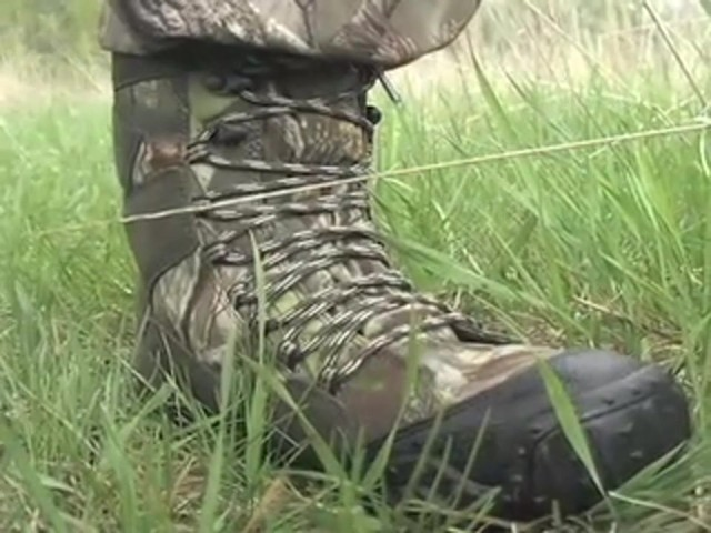 Men's Guide Gear® Waterproof ScentMask™ Shadow Sneaker Hunting Boots Camo - image 6 from the video