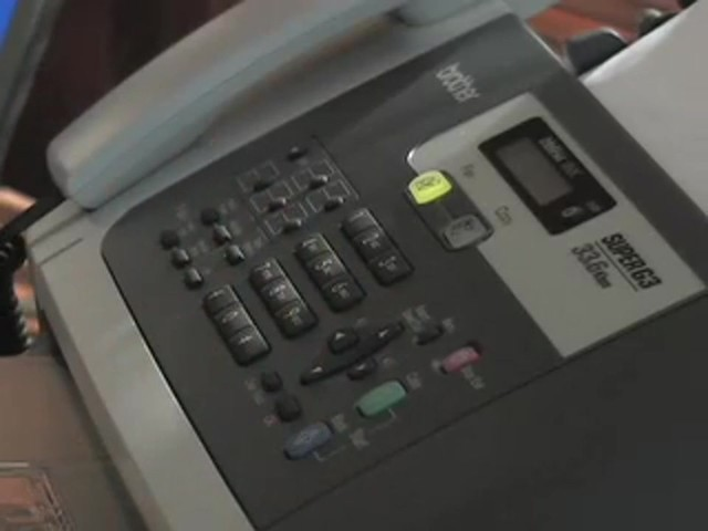 Brother® 1860 Fax / Copier / Printer (Refurbished) - image 2 from the video