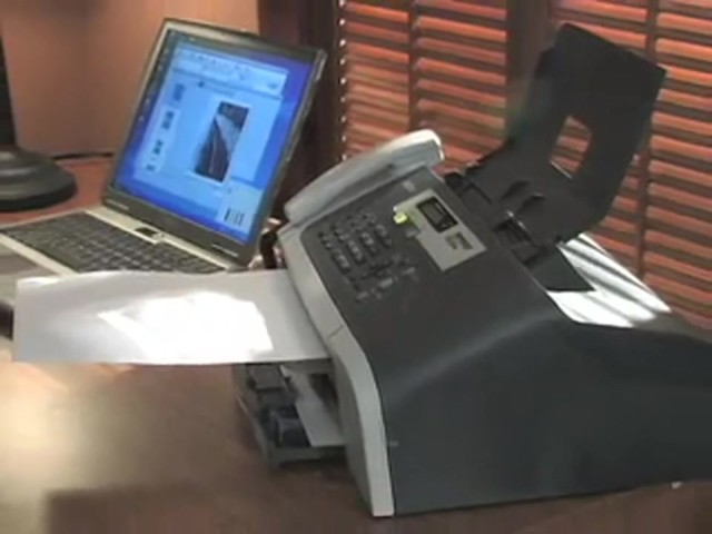 Brother® 1860 Fax / Copier / Printer (Refurbished) - image 3 from the video