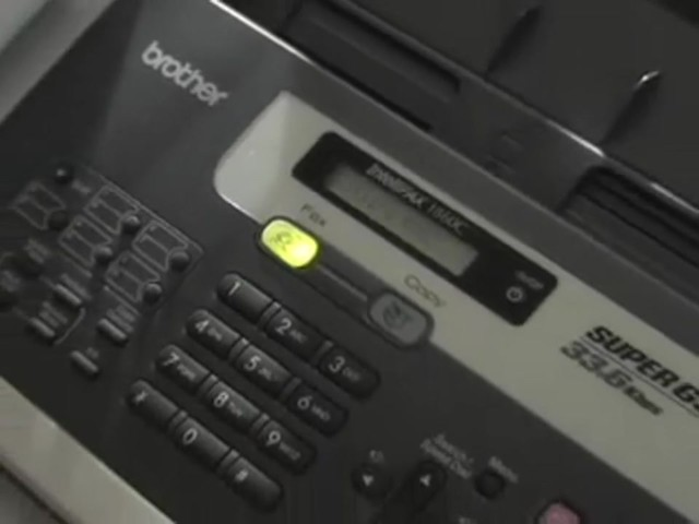 Brother® 1860 Fax / Copier / Printer (Refurbished) - image 9 from the video