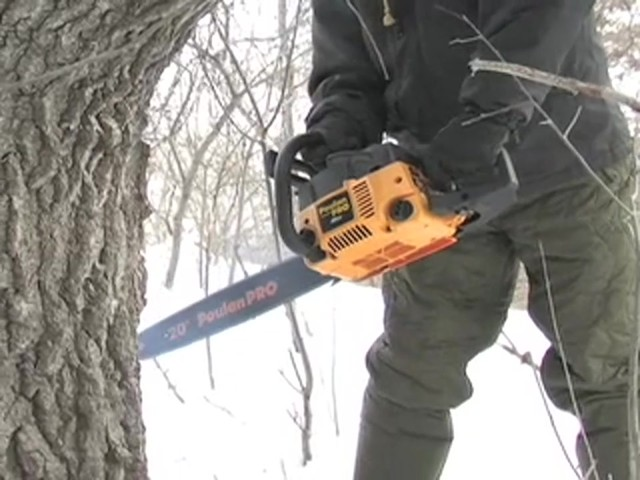 "Poulan Pro® 20"" Chainsaw (Factory Refurbished) - image 3 from the video"
