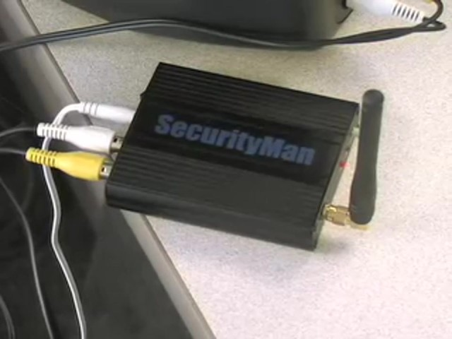 SecurityMan® Clock Cam Wireless Security Camera - image 6 from the video
