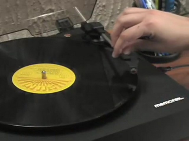 Memorex® Digital USB Turntable  - image 1 from the video