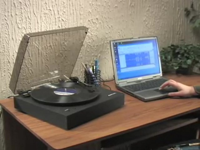 Memorex® Digital USB Turntable  - image 10 from the video