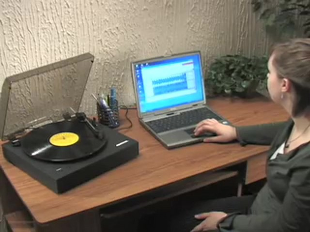 Memorex® Digital USB Turntable  - image 2 from the video