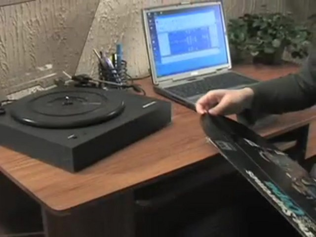 Memorex® Digital USB Turntable  - image 4 from the video