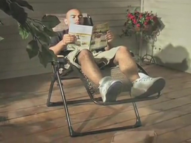 Guide Gear® Deluxe Oversized Anti - gravity Lounger - image 1 from the video