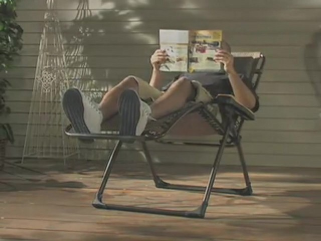Guide Gear® Deluxe Oversized Anti - gravity Lounger - image 3 from the video