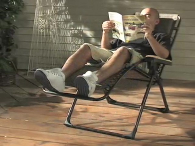 Guide Gear® Deluxe Oversized Anti - gravity Lounger - image 5 from the video