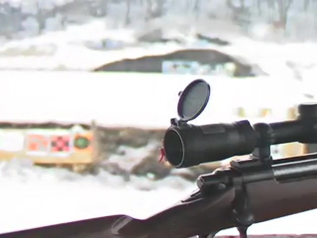 Bushnell® Trophy DOA™ 3 - 9x40 mm Scope with Bullet Drop Reticle - image 1 from the video