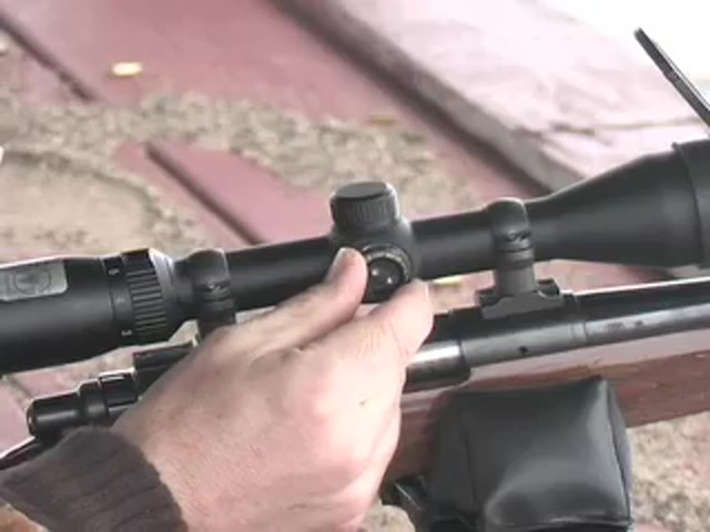 Bushnell® Trophy DOA™ 3 - 9x40 mm Scope with Bullet Drop Reticle - image 5 from the video