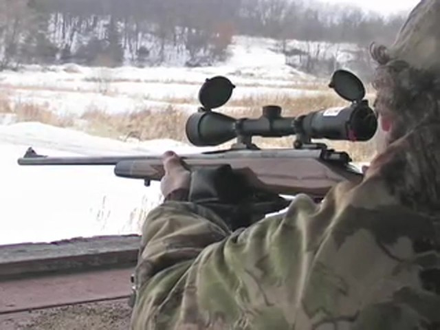 Bushnell® Trophy DOA™ 3 - 9x40 mm Scope with Bullet Drop Reticle - image 7 from the video
