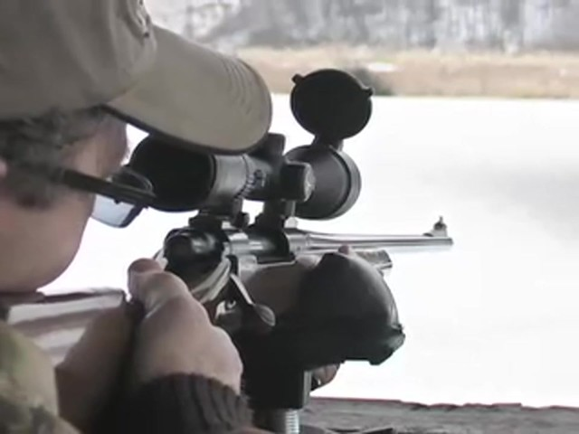 Bushnell® Trophy DOA™ 3 - 9x40 mm Scope with Bullet Drop Reticle - image 9 from the video