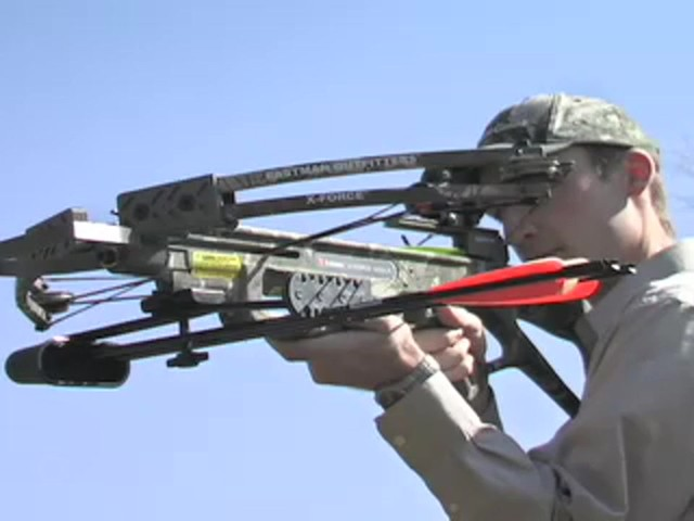 Eastman® X - Force 500LX Crossbow Kit Mossy Oak Break - Up® - image 3 from the video