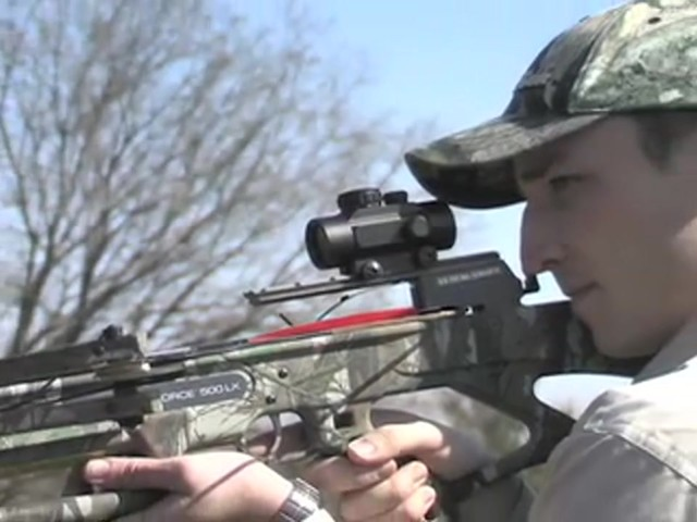 Eastman® X - Force 500LX Crossbow Kit Mossy Oak Break - Up® - image 9 from the video
