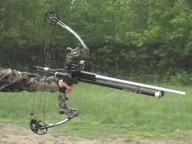 Bow - mount .22 - cal. Airow Gun™ - image 10 from the video