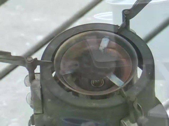 New U.S. Military M1950 Gas Stove - image 10 from the video
