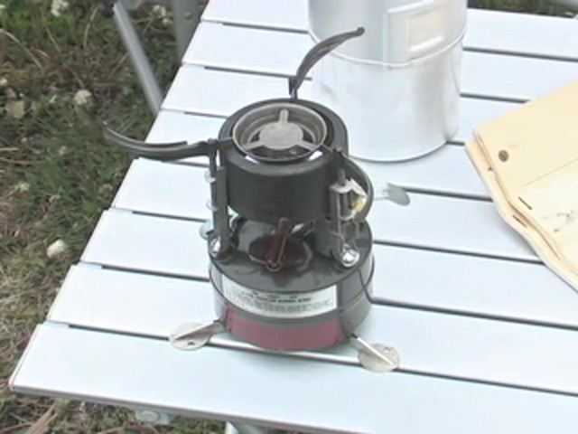 New U.S. Military M1950 Gas Stove - image 2 from the video