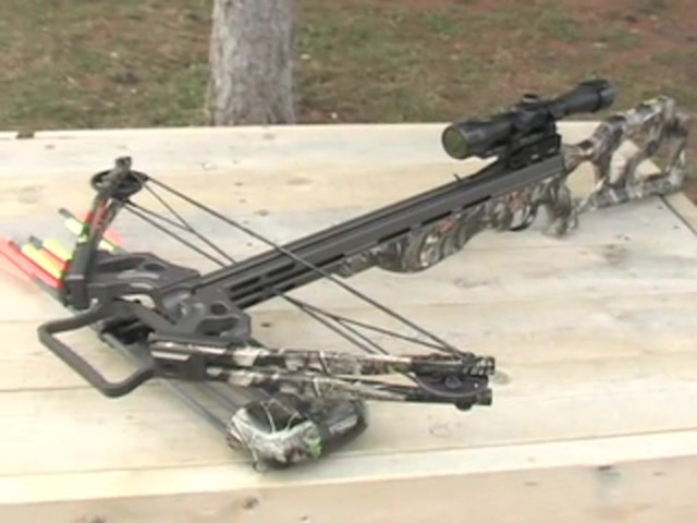 Arrow Precision® 375 F.P.S. Inferno Firestorm® Compound Crossbow Package - image 1 from the video