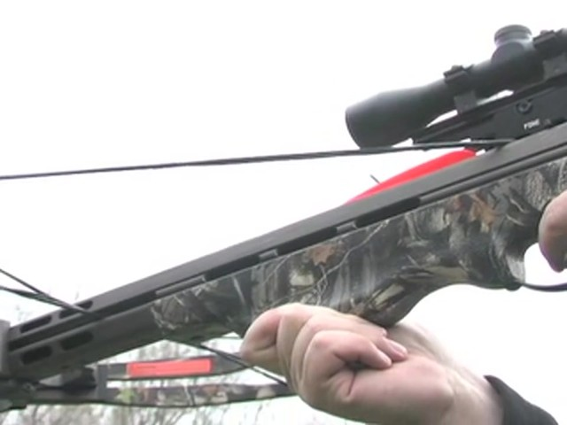 Arrow Precision® 375 F.P.S. Inferno Firestorm® Compound Crossbow Package - image 7 from the video