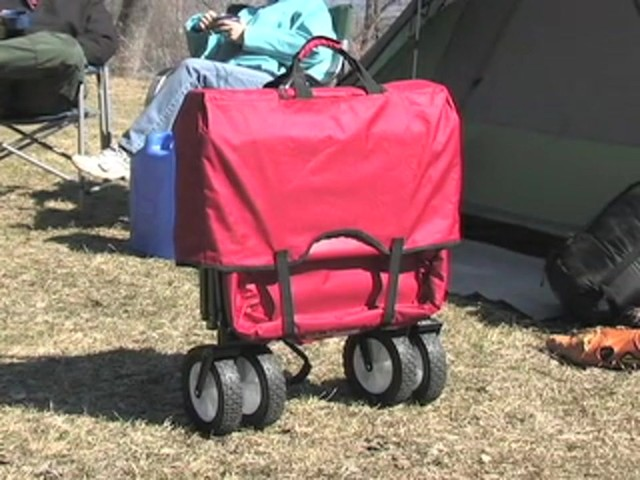 Folding Portable Wagon - image 10 from the video