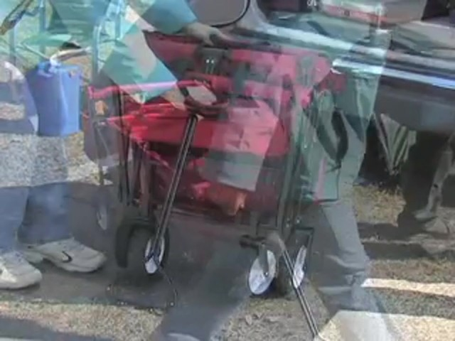Folding Portable Wagon - image 3 from the video