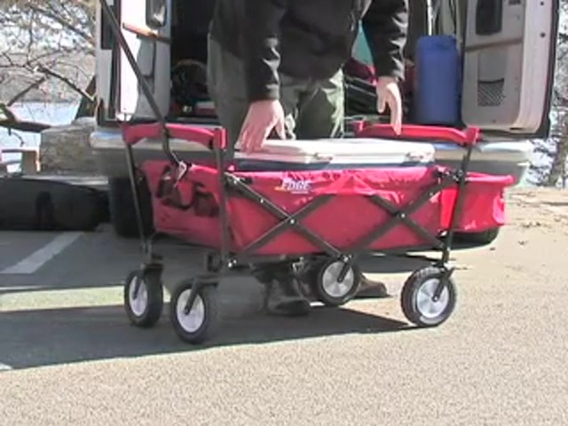 Folding Portable Wagon - image 4 from the video