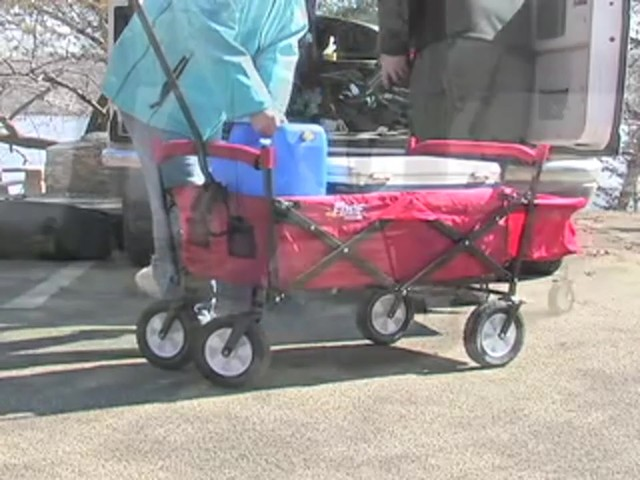 Folding Portable Wagon - image 5 from the video